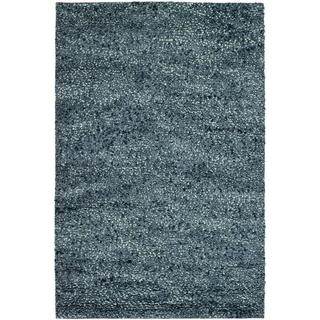 Lagash Charcoal Wool Rug (8' x 11')