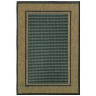 Monaco Maritime/Green Sand 8'6x13 Rug