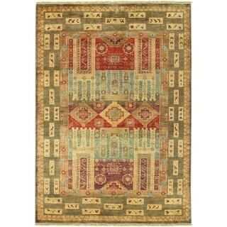 Lahore Persian Panel/ Multi 3'6x5'6 Rug