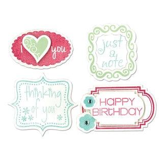Sizzix Framelits Stamps/ Birthday/ Frames Die Set