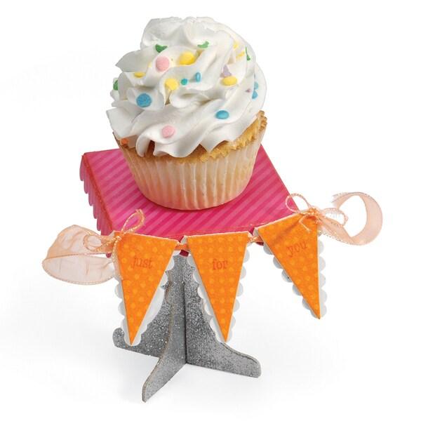 Sizzix ScoreBoards Cupcake Stand/ Pennant XL Die Set 11947487
