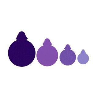 Sizzix Framelits Ornaments/ Round Die Set (4 Pack)