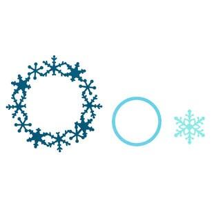 Sizzix Framelits Frame/ Snowflake Die Set