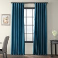 Azul Faux Silk Taffeta Pole Top Curtain Panel