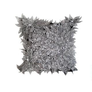 Sparkling Silver Down Pillow