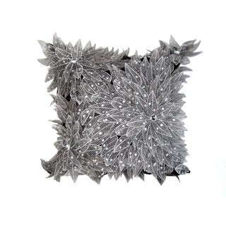Sparkling Silver Down Pillow
