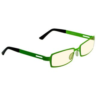 Gamers Edge Men's Neon Green Square Sunglasses
