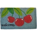 Cherry Welcome Mat