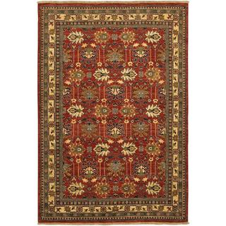Lahore Antique Kazak Reddish Clay Wool Rug (5'6 x 8')