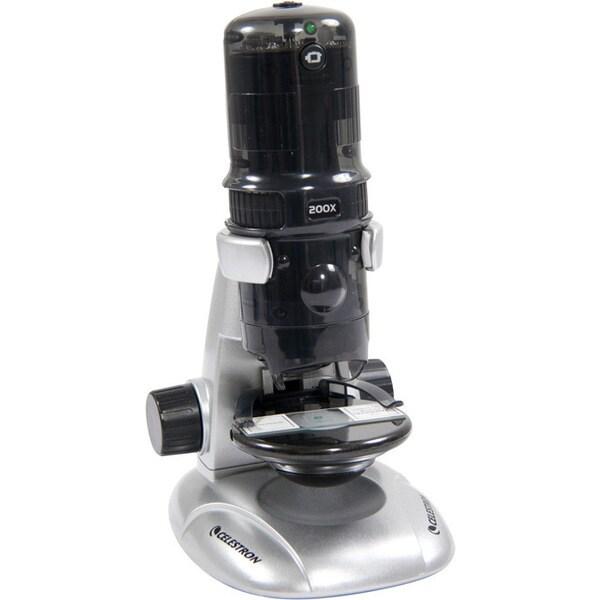 Amoeba Gray Digital Microscope