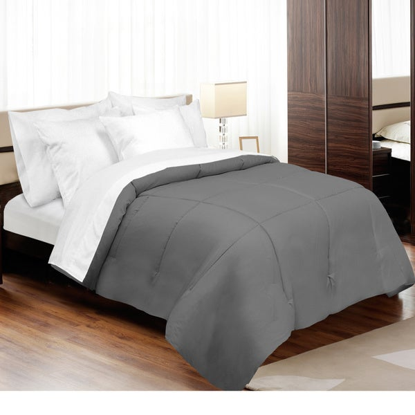 Grand Luxe 800 Thread Count Egyptian Cotton Down Alternative Comforter (As Is Item)