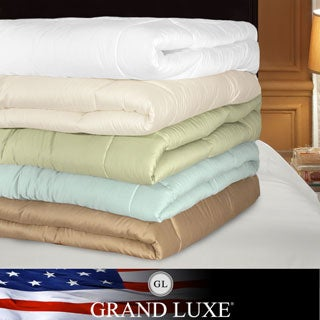 Grand Luxe 300 Thread Count Egyptian Cotton Down Alternative Comforter