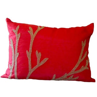 Red Reef Down Pillow