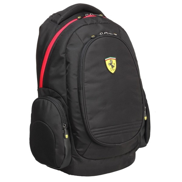 Ferrari Active Black 17-inch Laptop Backpack