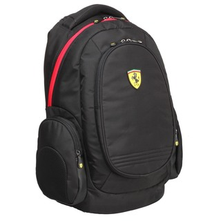 Ferrari Black Laptop Backpack (Active Collection)