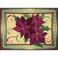 Christmas Flower Placemats (Set of 4)