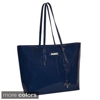 Adrienne Vittadini Solid 15-inch Laptop Travel Tote