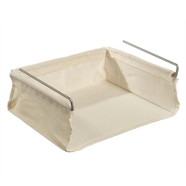 fabric under shelf basket 15781167. Black Bedroom Furniture Sets. Home Design Ideas