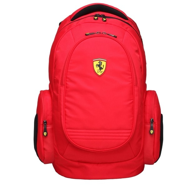 Ferrari Active Red 17-inch Laptop Backpack