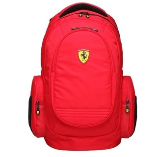 Ferrari Red Laptop Backpack (Active Collection)