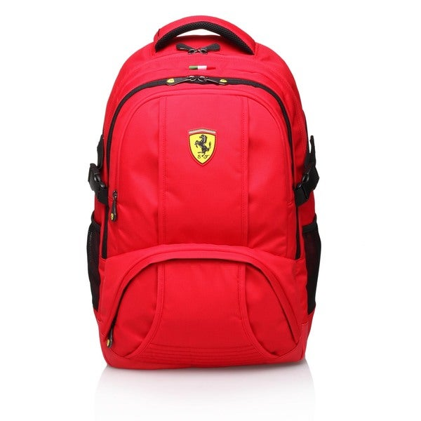Ferrari Red Travel Backpack (Active Collection)