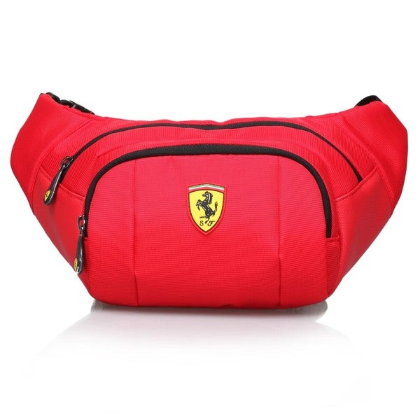 Ferrari Red Waist Bag