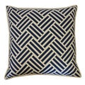 Navy Tribal Throw Pillow