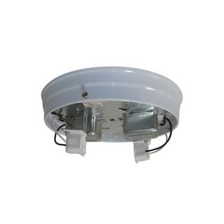 8-inch White Fluorescent Ceiling Pan
