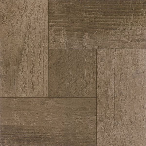 Nexus Rustic Barn Wood 12x12-inch Self Adhesive Vinyl Floor Tiles (Case of 20)