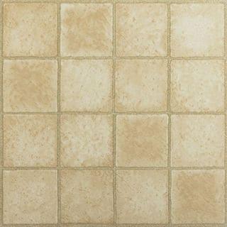 12x12 Sandstone Self Adhesive Vinyl Floor Tile (Pack of 20)