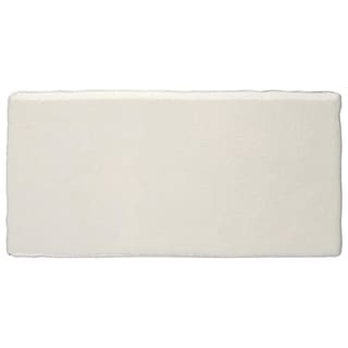 SomerTile 3x6-in Artic Craquelle White Cermaic Wall Tile (Case of 16)