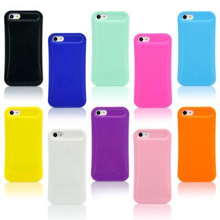 Gearonic Glossy Ultra Thin Jelly TPU Gel Hard Case For iPhone 5C