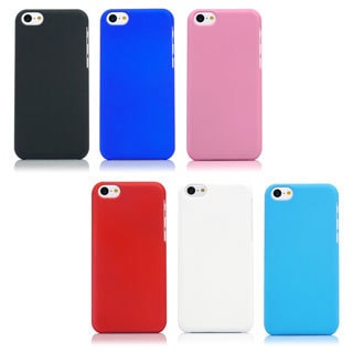Gearonic 0.8mm Ultra Slim Rubberized PC Hard Back Case For iPhone 5C