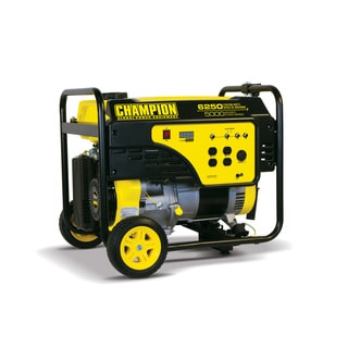 Champion 6250 Watt Portable Generator CARB Compliant