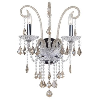 Simone Collection Chrome Wall Sconce