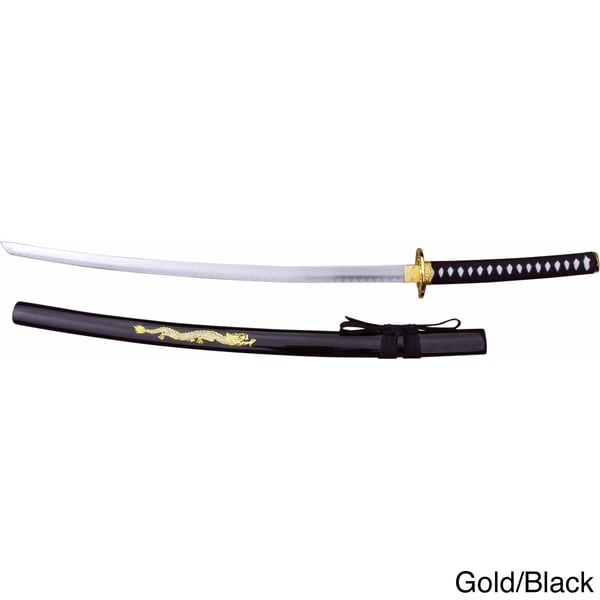 40.5-inch Samurai Sword with Carbon Steel Blade