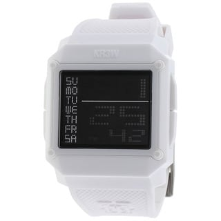 Kr3w Men's White Halo Watch
