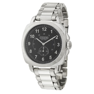 Coach Men's 'Tyler' Stainless Steel Swiss Quartz Watch