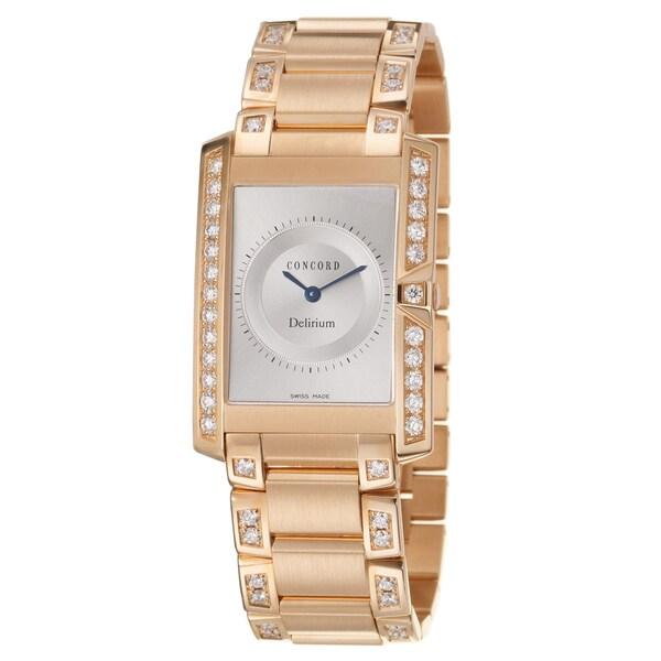 Concord Men's 'Delirium' Rosegold Swiss Quartz Watch