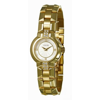 Concord Women's 'La Scala' 18K Yellow-gold Swiss Quartz Watch