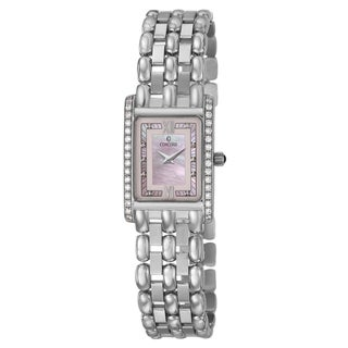 Concord Women's 'Veneto' 18K White-gold Swiss Quartz Watch
