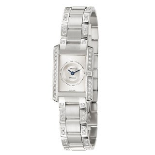 Concord Women's 'Delirium' 18K White-gold Swiss Sophisticated Quartz Watch