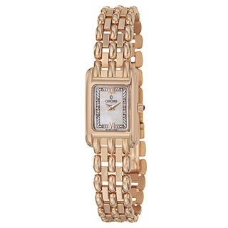 Concord Women's 'Veneto' 18K Rose-gold Swiss Quartz Watch