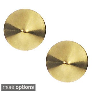 Journee Collection Stainless Steel Stud Earrings