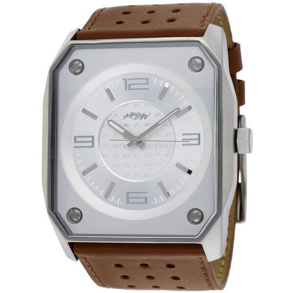Kr3w Men's Blaster Brown Quartz Watch