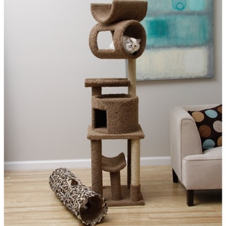 New Cat Condos 6-foot Cat Playstation with Kitty Cruiser Bundle
