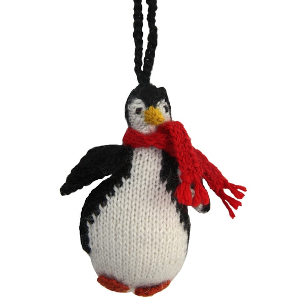Alpaca Penguin Ornament (Peru)