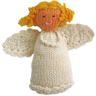 Alpaca Angel Ornament (Peru)