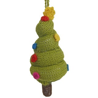 Alpaca Christmas Tree Ornament (Peru)