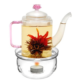 Tea Beyond Teapot Romeo with Tea warmer Cozy